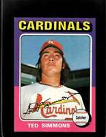 1975 TOPPS #75 TED SIMMONS EXMT CARDINALS  *XR19814