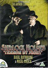 Sherlock Holmes, Terror By Night, Basil Rathbone (NEW SEALED region free DVD )