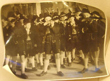 Original pre WW2 photographs German Bavarian Alpine youth dummy rifle drill