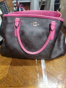 Coach purses handbag Pink