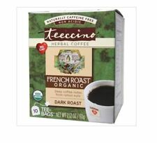 3 x 10 tea bags TEECCINO Chicory Herbal Tea Dandelion French Roast ( 30 bags )