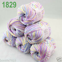 Sale 6 ballsx 50gr DK Baby Soft Cashmere Silk Wool hand knitting Crochet Yarn 29