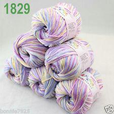 Sale 6 ballsx 50gr DK Baby Soft Cashmere Silk Wool hand knitting Crochet Yarn 29