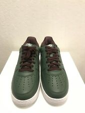 Men's Size 10 Nike Air Force 1 Low Retro Shoes Deep Forest 845053 300