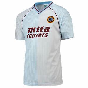 Aston Villa 1988 Away Top Shirt Jersey Sport Tee Top Shirt Jersey Sport - Mens