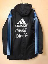 Argentina Adidas Messi ERA Barcelona Padded  Bench Jacket Coat Xl  Shirt