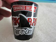 Shark attraction Adventure Aquarium Shot Glass NEW