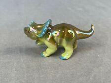 Hagen-Renaker Specialty Triceratops Baby Figurine Ceramic Animal Museum No Reser