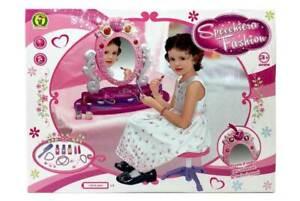 Specchiera giocattolo per bambina Fashion Moda accessori gioielli suoni luci