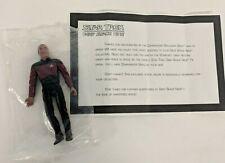 Star Trek: Deep Space Nine COMMANDER SISKO Sega/Nintendo Mail-In Offer SACF12