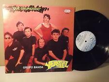 """Grupo Banda Ysrael """" Que grupazooo"""" Con lagrimas de sangre"""" LP VG+"""
