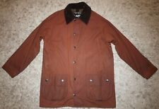 Barbour CLASSIC BEAUFORT Waxed Jacket in Rustic Brown - 38 inch Chest [4002]