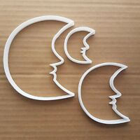 Moon Crescent Face Night Shape Cookie Cutter Dough Biscuit Pastry Fondant Sharp