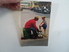 Retro PC LONDON, A London Bootblack+Taxis Franked+Stamped 1968    §A2489