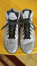 f730280d89bb Adidas Mens Derrick Rose Basketball Shoes Gray Black Size 10 1 2