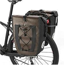 30L Waterproof Bike Rear Rack Bag Bicycle Pannier Bag Shoulder Bag Cycling