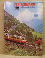 Fleischmann H0 Hauptkatalog 1972 Neuheiten, HO gelocht, Schöner Zustand