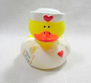 "Nurse Rubber Duck 2"" Rx Pad Prescription Medical Nurses Station Squirter Toy"