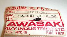 Kawasaki OEM new chain oil tank gasket 52019-001 H2 Mach IV A B C  #4734
