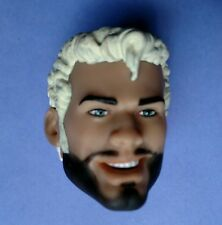 """OOAK Repaint Custom Head For 13"""" Tom Of Finland Action Figure. Head Only!"""