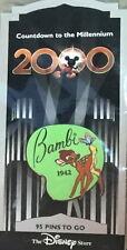 Disney Store Usa 1999 Countdown to the Millennium Series Pin #96 Bambi Pp #402
