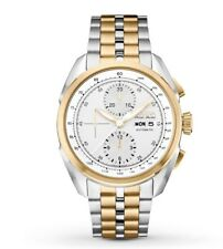 Bulova accu swiss Men's 65C117 Analog Display Automatic Self Wind Two Tone Watch
