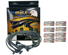 EAGLE 10mm IGNITION LEADS COMMODORE VT VY VZ 5.7L V8 LS1 Gen3 III w/ Spark Plugs