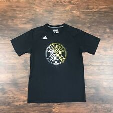 COLUMBUS CREW Shirt Short Sleeve T Shirt Mens Large Soccer Futbol Team Adidas