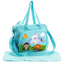 Precious Planet Diaper bag new large fisher price Baby Boy nursery shower gift