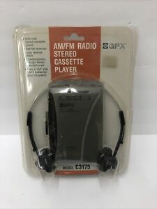 Vintage GPX Stereo Cassette Player with Am/Fm Radio Model C3175 Works