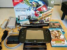 Nintendo Wii U Mario Kart 8 Deluxe Bundle with games and accessories!