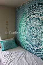 Indian Ombre Tapestries Hippie Mandala Wall Hanging Boho Queen Cotton Bedspread