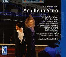 Federico Maria Sarde - Achille in Sciro Dramma in Musica in 3 Acts [New CD] Bo