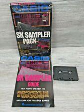 Vintage 1975 Casio Keyboard SK Sampler Guide w/ 100 Song Cassette