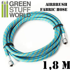Airbrush Fabric Hose G1/8H G1/8H - Painting Tools, airbrush, modelling, Hobby
