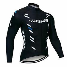 Cycling Long Sleeve Jersey Bib Bicycle MTB Bike Shirt Team Jacket Clothing Top