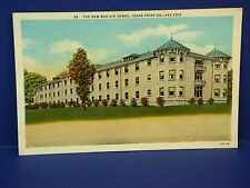 New Bon Air Annex Cedar Poing On Lake Erie 1938 Vintage Color Postcard PC7