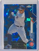 ANTHONY RIZZO 2020 TOPPS CHROME SAPPHIRE REFRACTOR BASEBALL #51 CHICAGO CUBS MLB