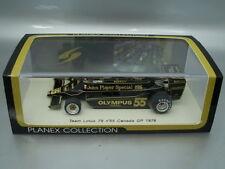 "1/43 Spark LOTUS 79 #55 ""JPS"" CANADA GP 1978 J.P.JARIER, PLANEX COLLECTION"