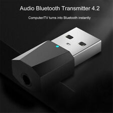 USB Bluetooth 4.2 Wireless Audio Music Stereo adapter Dongle receiver for TV PC~