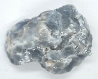Large Blue Calcite Crystal 370 grams healing crystals reiki Ref H.BC1ew