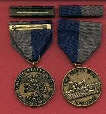 One Navy Civil War medal with ribbon bar 1861-1865 Ironclads