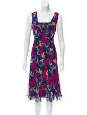 Diane Von Furstenberg DVF Silk Dress Size 4