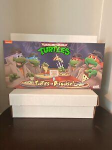 Neca Teenage mutant Ninja Turtles In Disguise 4 Pack Set