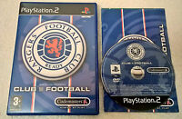 Club Football: Rangers (Sony PlayStation 2, 2003) - Complete - PS2 - PAL