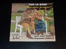 45 Upm Sp - Mal Le Bank - Carmen Gestrickt - Raymond Souplex & Jane Sourza