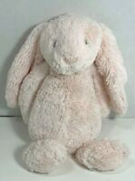 Little Jellycat Bunny London rattles pink 11 inches soft plush stuffed animal
