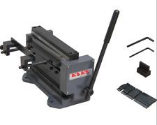 8 Inch Manual Mini Shearbrake Combination Sheet Metal Brakes Shears Machine