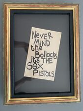 Jaime Reid 1977 Lavatory Paper Flyer From Never Mind The Bollocks
