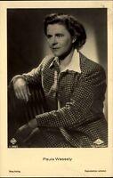 Paula WESSELY Porträt Schauspielerin Kino Bühne Ross-Verlag ~1930 Nr. 3369/2